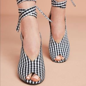Jeffrey Campbell Check Shoe